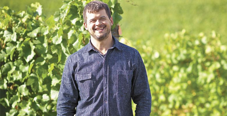 Ryan Harms, founder of Union Wine Co. ##Photo provided