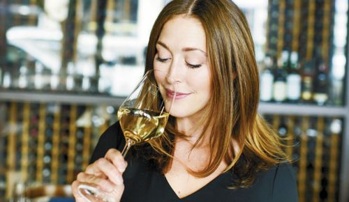 Kelsey Glasser, sommelier and owner of Arden, a Pearl District restaurant featuring Northwest cuisine and Oregon wines. ##Photo provided