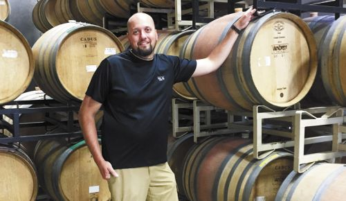 Van Duzer Vineyards winemaker Florent Merlier. ##Photo by Patty Mamula