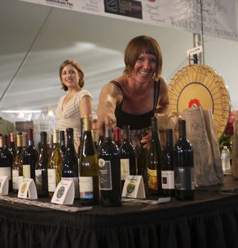 World of Wine s Grand Tasting was a great success at last year s event.  Photo by Frank Von Coelin