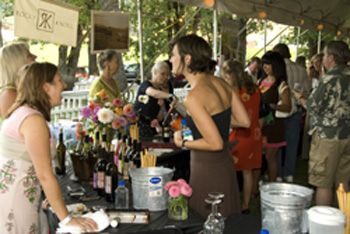 Guests and winery representatives enjoy last year s World of Wine Festival at Del Rio Vineyards.  This year, more than 500 tickets are expected to be sold.  Photo provided.