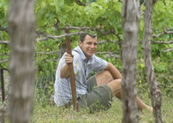 Brian Jordaan takes a rest at