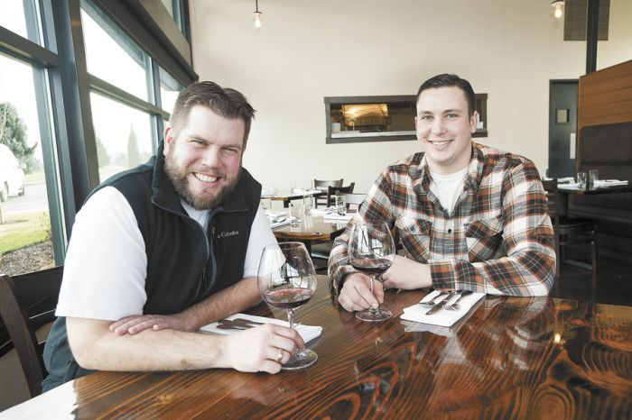 Scott Cunningham (left) and Jess Kincheloe of Walnut City Kitchen.