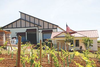 Torii Mor s Gold LEED-certified winery was completed in 2007.  Annual production capacity is 30,000 cases.  Photo provided.