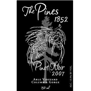 The Pines 2007 Pinot Noir Value Pick